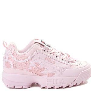 Womens Fila Disruptor 2 Rose Athletic Shoe - Pink
